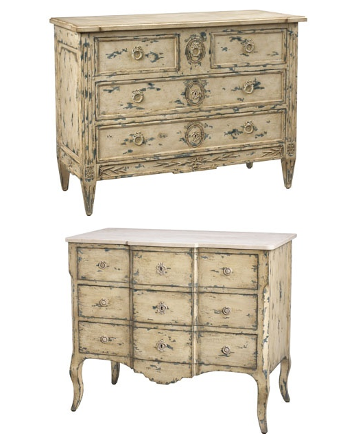 Absolutely Breathtaking French Painted Furniture
